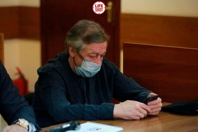 Михайло Єфремов на судовому засіданні