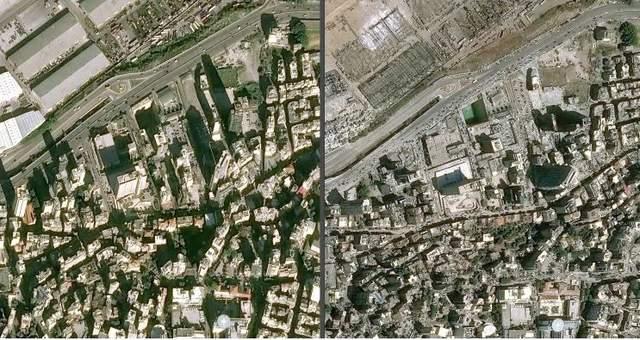 Оприлюднили супутникові знімки зруйнованого порту в Бейруті