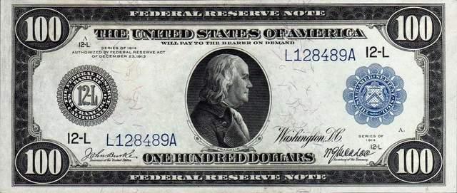Доллар 1914