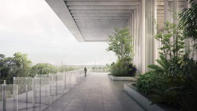 На території офісу запланували створити великі тераси / Фото Deezen