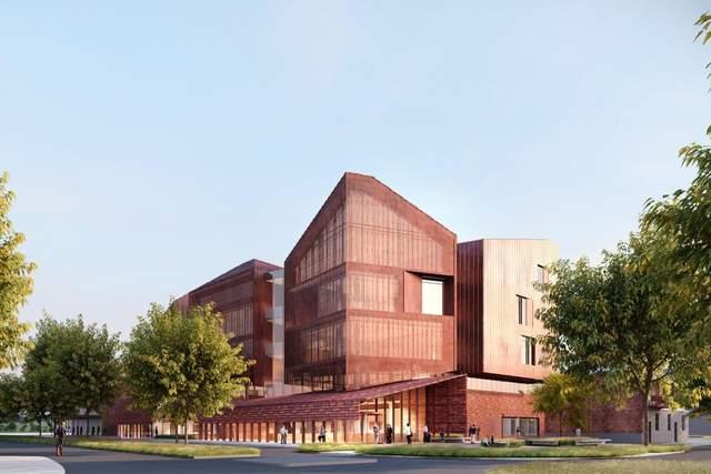 'Медный' суд: в Австралии построят огромное здание суда с медным фасадом – фото