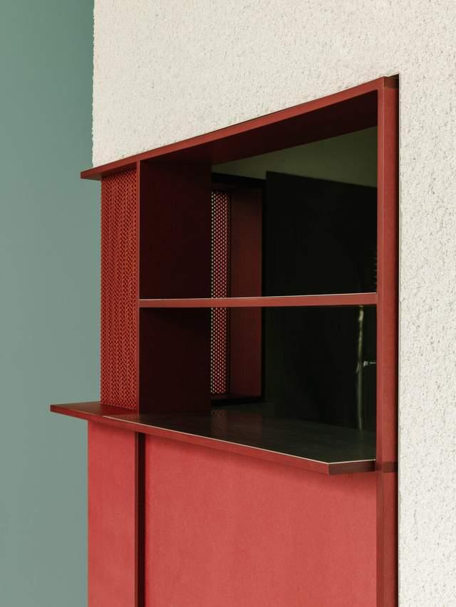 Червоний колір у інтер'єрі додає яскраві акценти / Фото Deezen