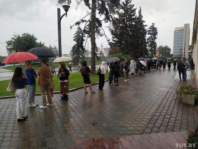 протести в Білорусі 7 вересня