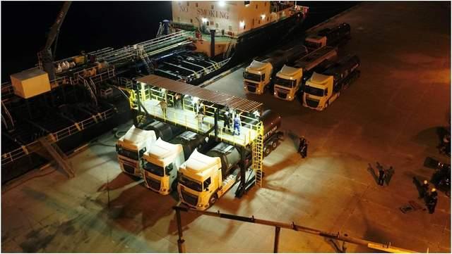 Компания 'Кантарелл Украина' наладила первые морские поставки битума для 'Великого будівництва'