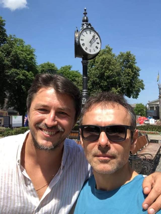 Святослав Вакарчук і Сергій Притула
