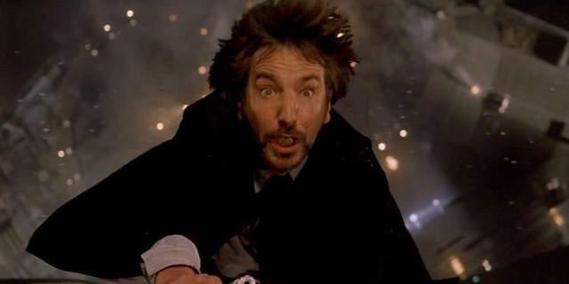Алан Рікман насправді боявся падати з даху