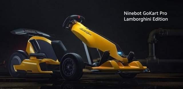 Ninebot GoKart Pro Lamborghini Edition.