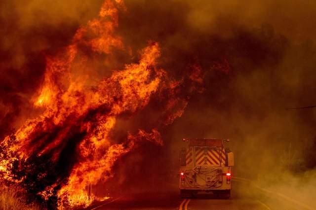 пожежі каліфорнія