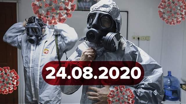 Новини про коронавірус 24 серпня: спалах в Чернівцях, 1799 нових хворих в Україні