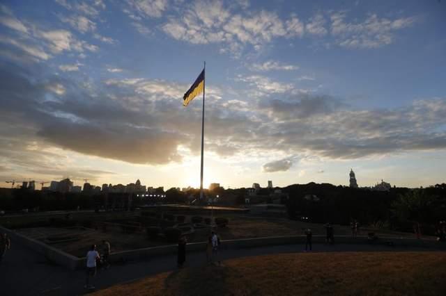 прапор україни київ
