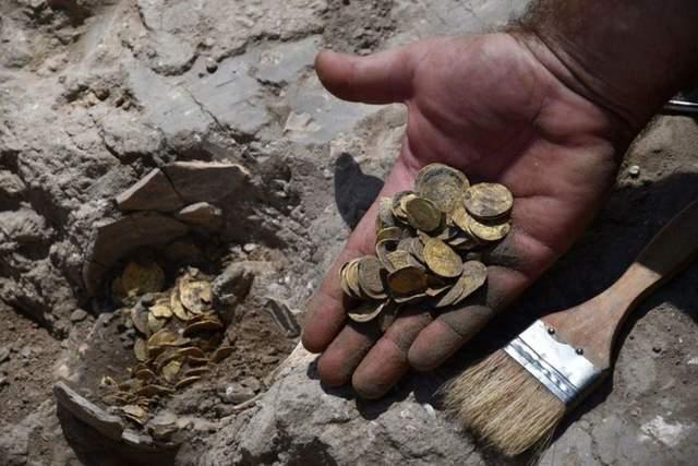 Унікальна знахідка: ізраїльські підлітки виявили кілограм древнього золота