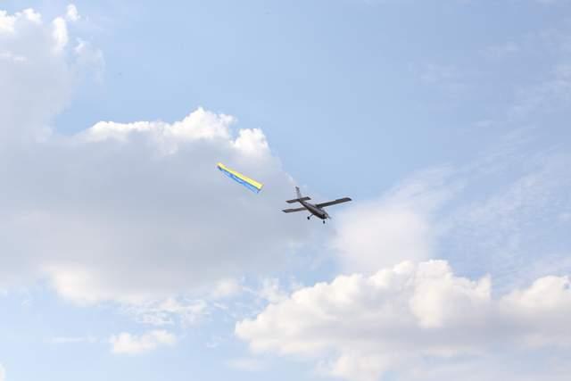 Підняли на рекордну висоту: в Тернополі державний прапор здійнявся на понад 300 метрів, – ЗМІ