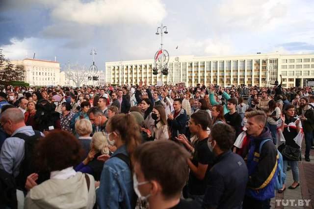 протести у Білорусі 27 серпня