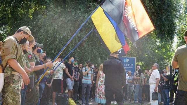 Нападение на членов 'Патриоты - за жизнь' Кивы: в Украине прошли митинги в поддержку задержанных
