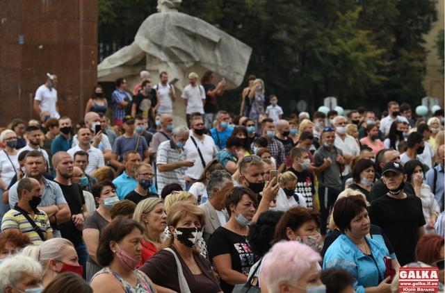 Жители Ивано-Франковска протестуют против карантина: решение обжалуют в суде
