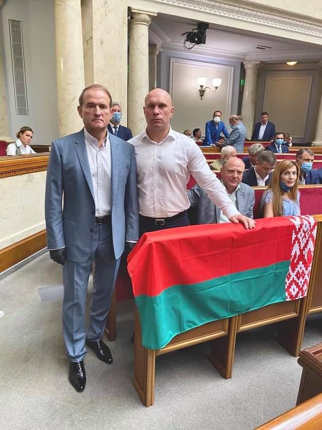 Медведчук та Кива підтримали Лукашенка