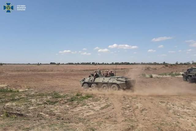 СБУ тренувалася відбивати диверсійні атаки на кордоні з Кримом