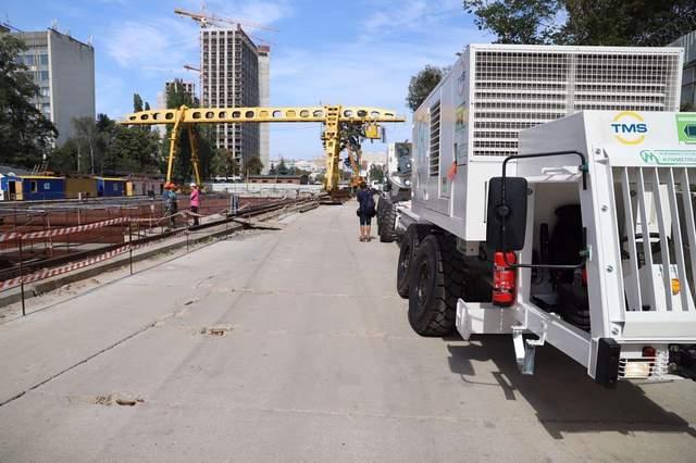 Сегодня мы запустили комплекс, который будет прокладывать тоннель метро на Виноградарь, – Кличко