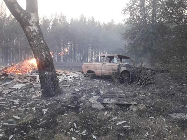 Пожежі Харківщина