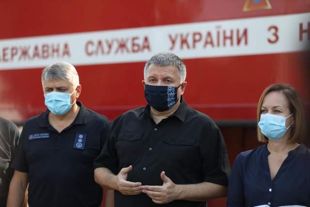 Аваков пожежі Луганщина Харківщина