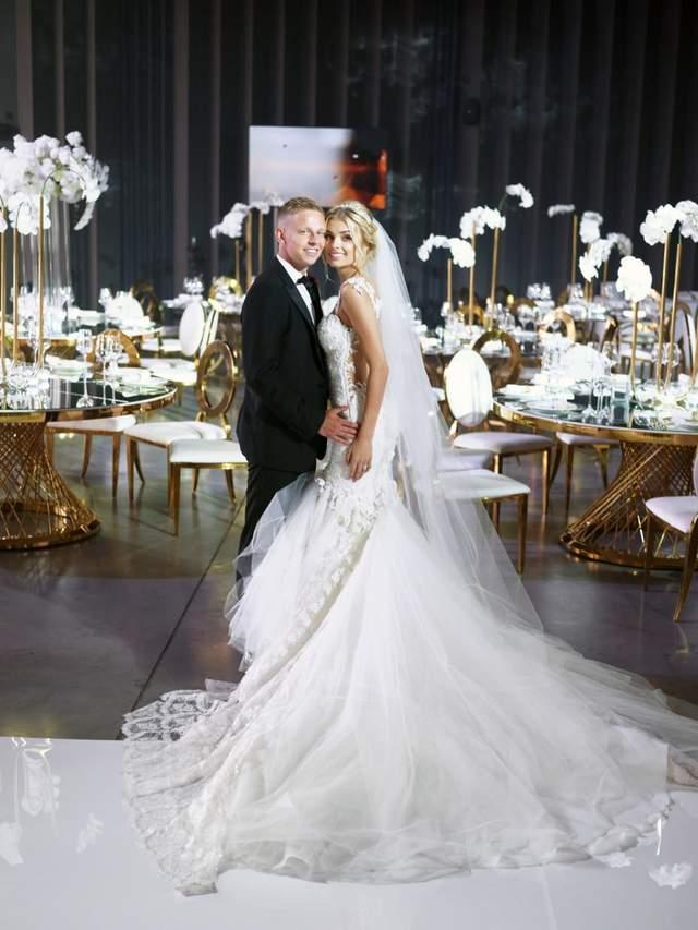 Какие платья выбрала Влада Седан на свадьбу с Зинченко: фото