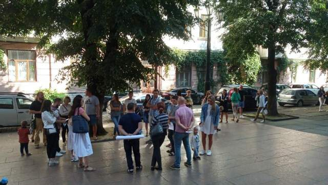 Протести в Чернівцях