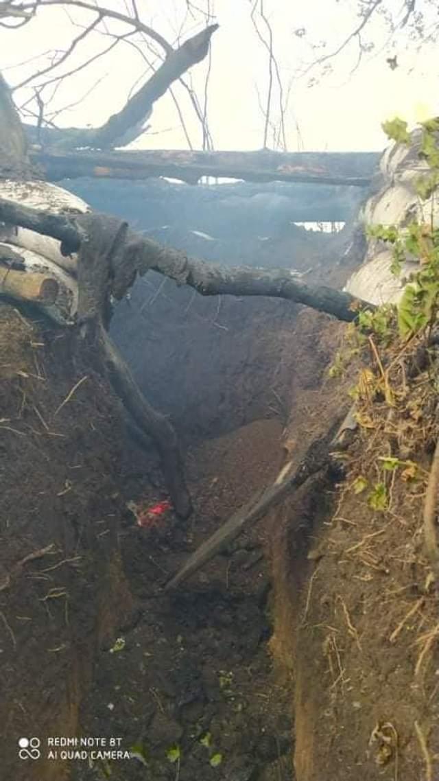 На Донбасі згоріли 6 українських постів