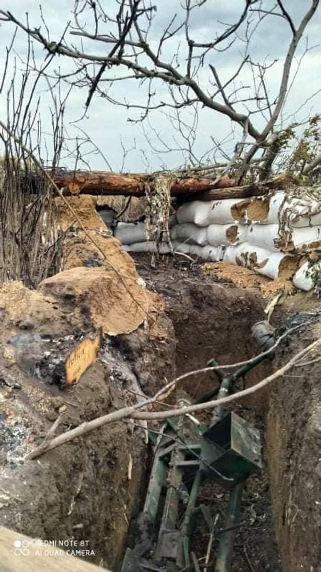 На Донбасі згоріло 6 позицій ЗСУ