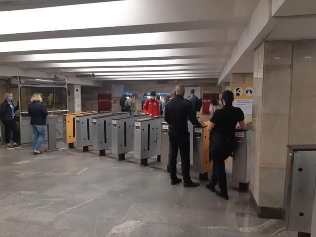 Проблеми у київському метро