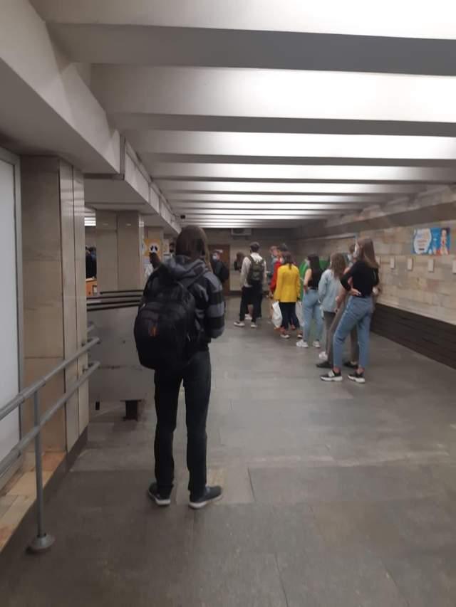 Колапс у київському метро