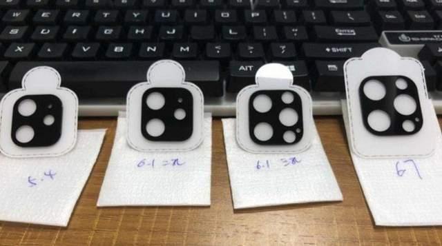Все 4 камеры из линейки iPhone 12 показали на фото