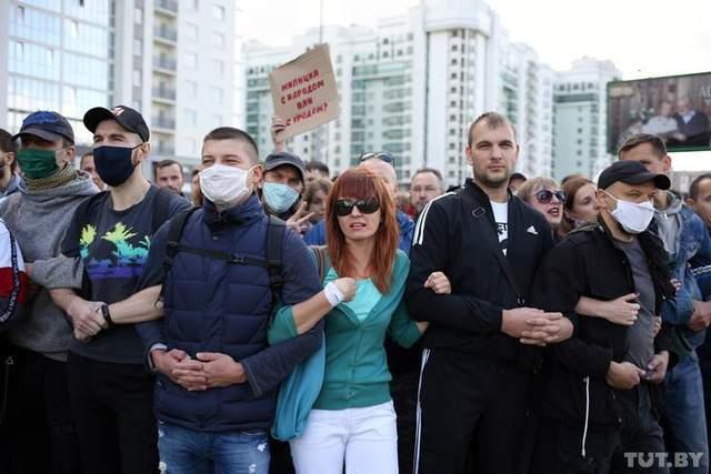 протести в Білорусі 13 вересня