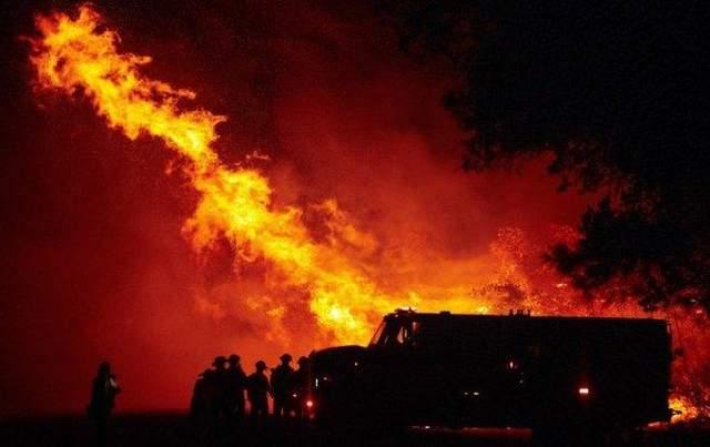 Масштабные пожары в США 2020: огонь уничтожил почти 2 миллиона гектаров леса