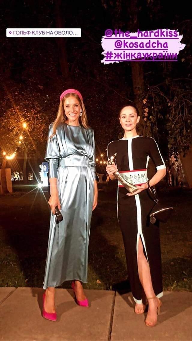 Юлія Саніна у вишуканій сукні