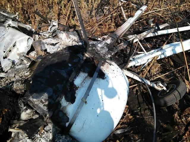 На Сумщині розбився легкомоторний літак