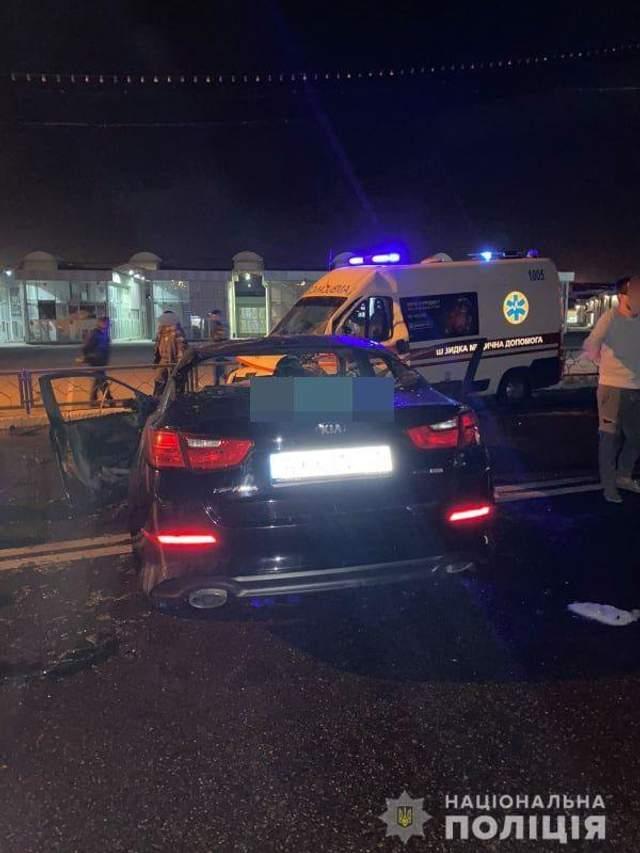Аварія сталася через порушення водієм легковика ПДР
