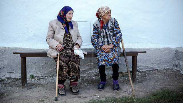 Молдавські пенсіонери