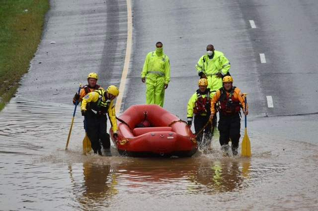 Зливи в Вашингтоні