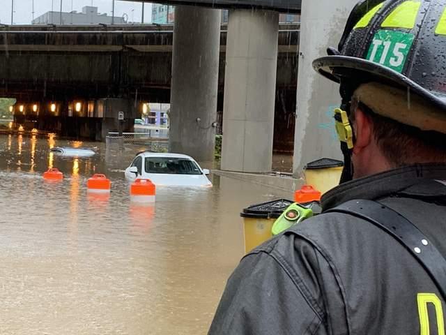 Зливи уВашингтоні