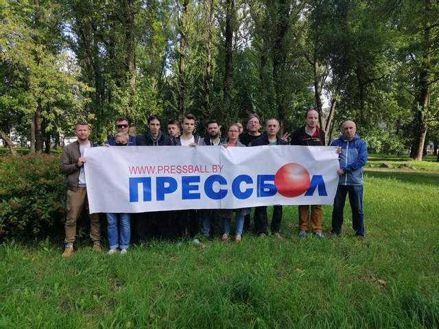 Акція журналістів у Білорусі