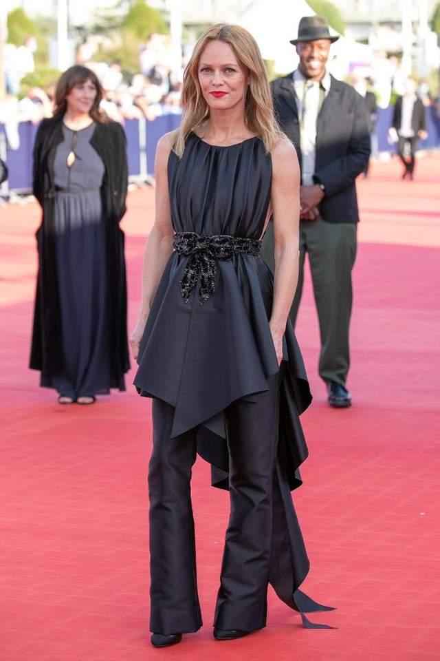 Ванесса Параді на кінофестивалі в Довілі