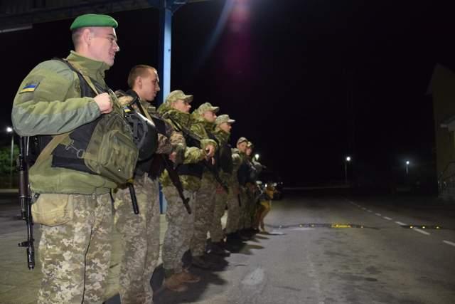 хасиди на кордоні з Білоруссю