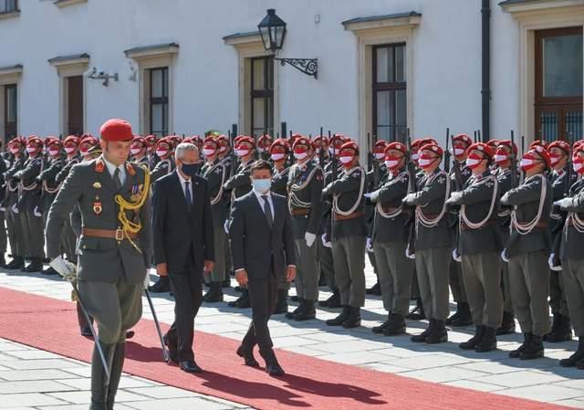 зустріч Зеленського та президента Австрії