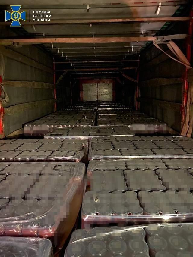 СБУ викрила схему контрабанди продуктів на окуповану Донеччину
