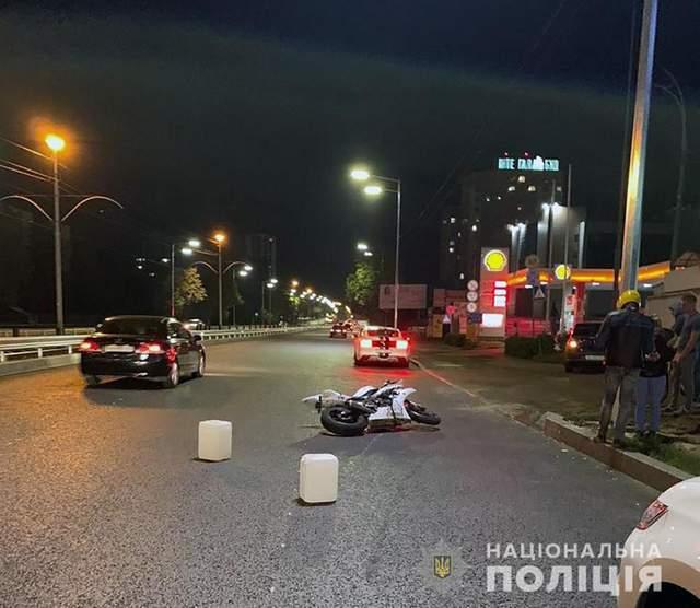 Смертельна ДТП в Києві за участю мотоцикла: в мережі з'явилось відео моменту аварії