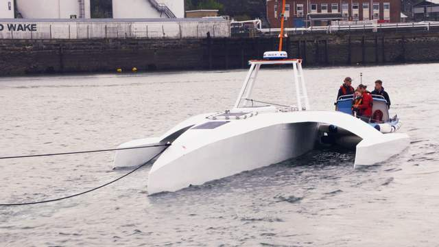 Без экипажа: корабль, которым руководит искусственный интеллект, отправился из Британии в США