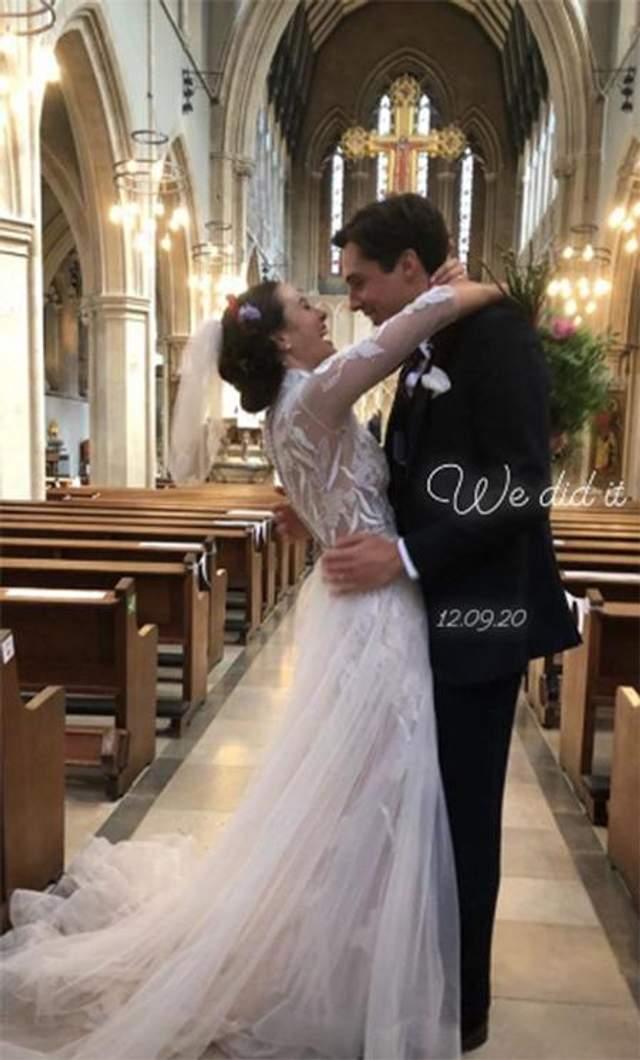 Актриса вийшла заміж