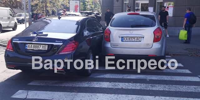 Син нардепа Шуфрича потрапив у ДТП у Києва