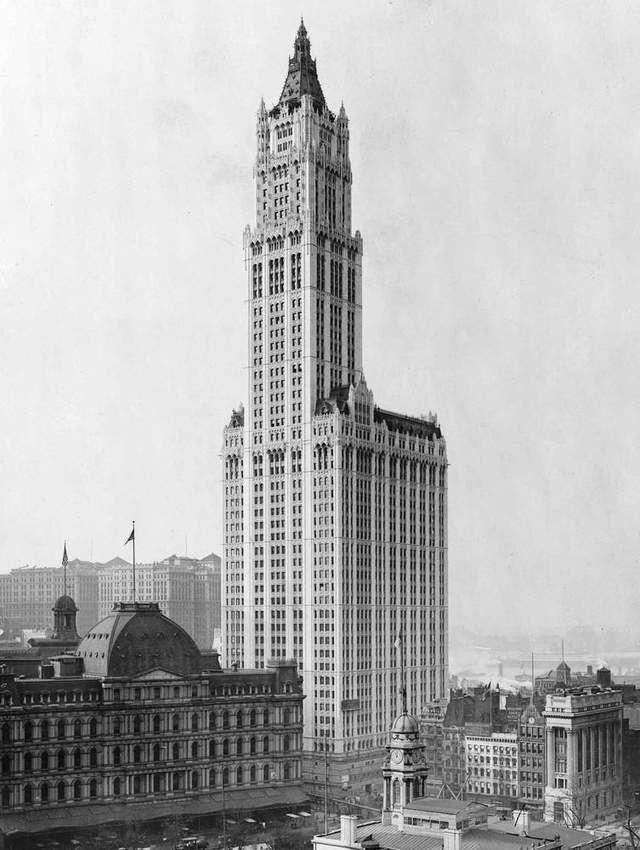 Дом Вулворт: неоготический небоскреб, которому уже больше 100 лет – фантастические фото
