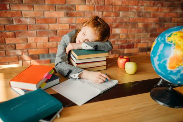Дитина може прогулювати школу, бо втомилась